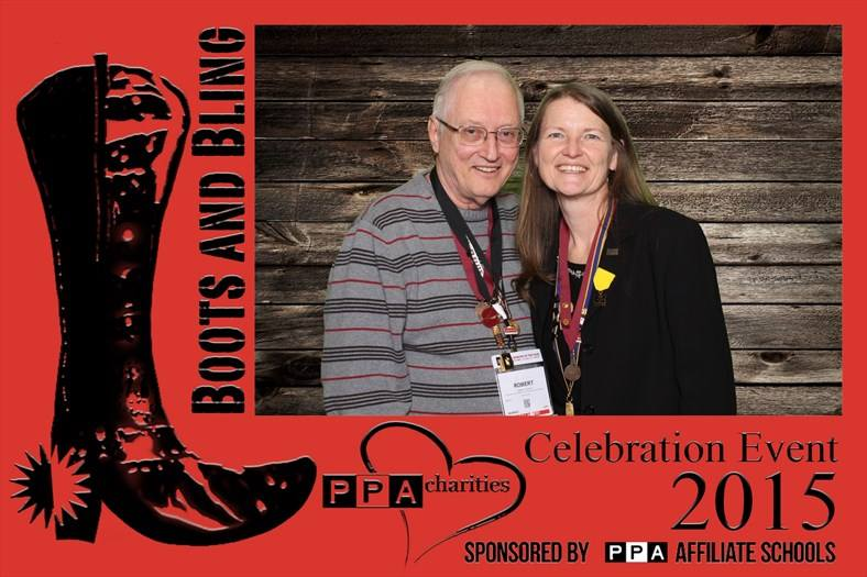 """IUSA 2015 - PPA Charities """"Boots & Bling"""" event."""